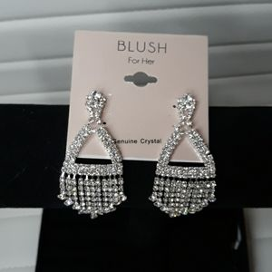 ⭐Blush Genuine Crystal Women's Fashion Earrings
